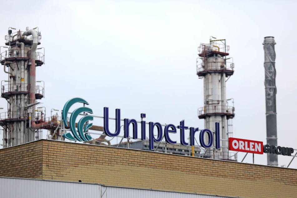 In einer Raffinerie der Firma Unipetrol passierte das Unglück.