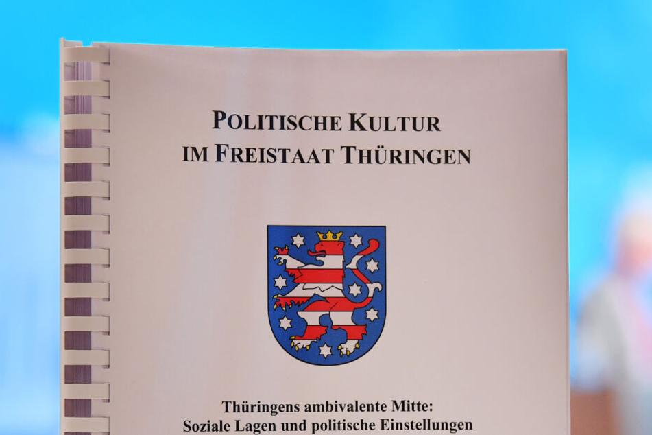 Der Thüringen-Monitor wurde in Erfurt vorgestellt.