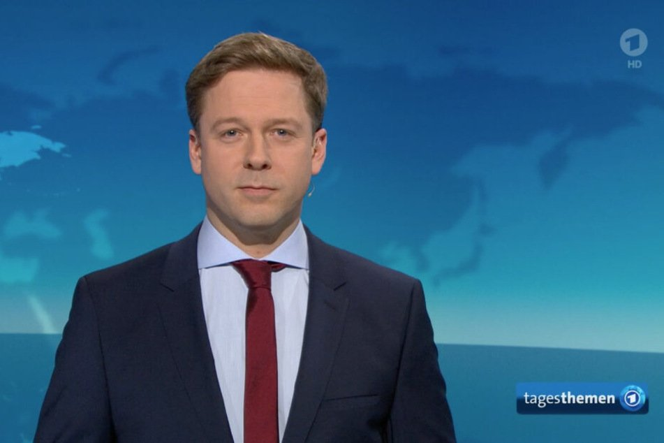Ungewohnt: Helge Fuhst hat am Mittwochabend die Tagesthemen moderiert.