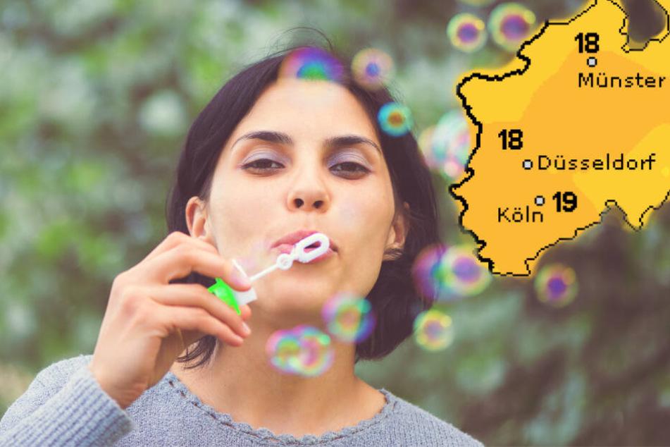 Die Woche wird noch einmal richtig schön in Nordrhein-Westfalen. (Symbolbild)