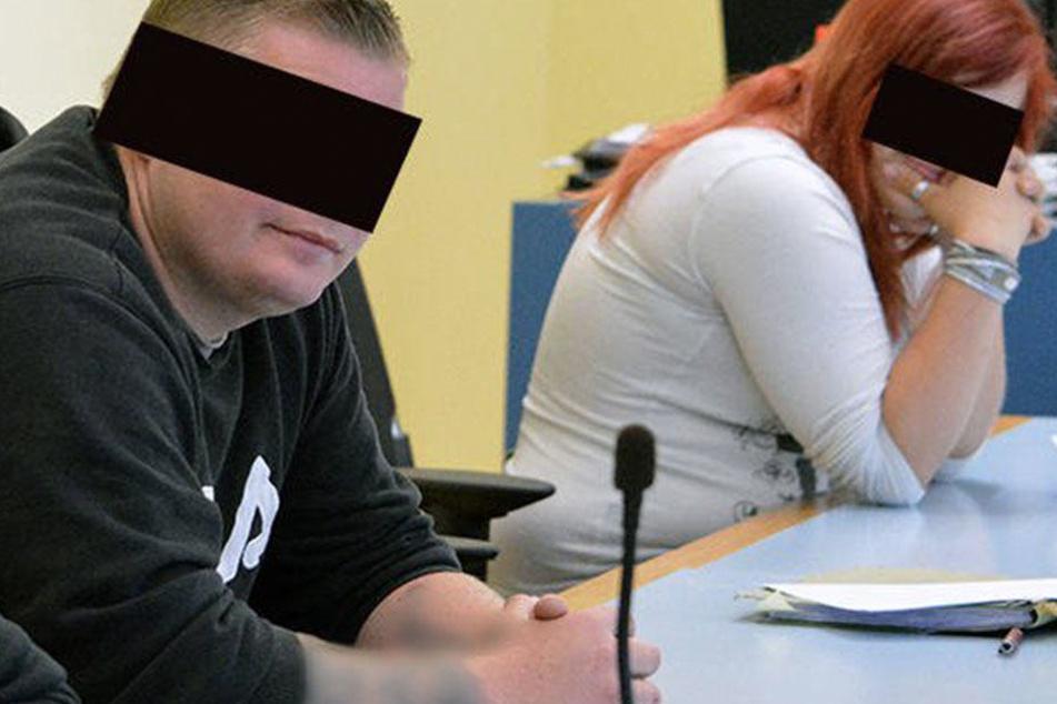 Konstantin R. (24) kassierte acht Monate Knast. Lisa F. (18) kam mit sechs Monaten Bewährung davon.