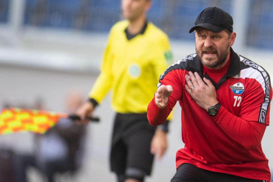 SCP-Trainer Steffen Baumgart kümmert sich nicht um den Vormachtstellung in OWL.