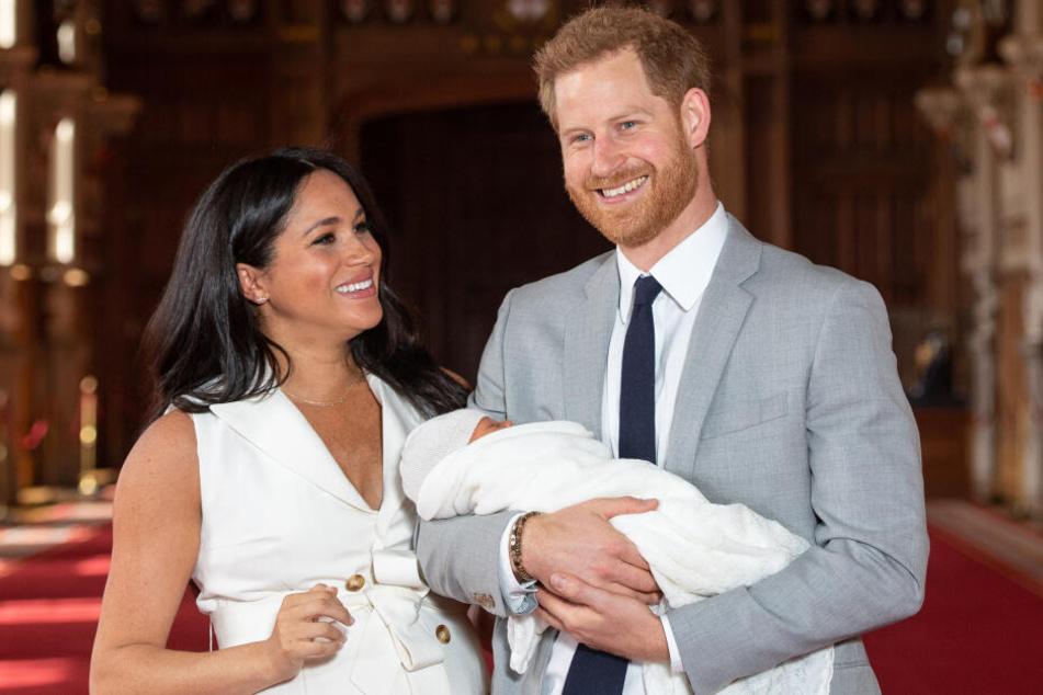 Archie Harrison Mountbatten-Windsor wird der Welt offiziell vorgestellt.