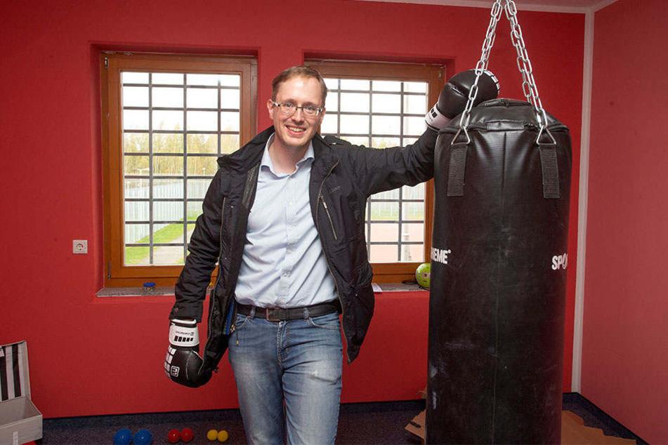 Boxt gegen Crystal an: Dr. Michael Spaeth, Leiter der Suchttherapiestation in Regis-Breitingen.