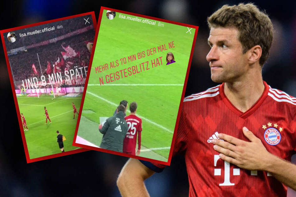 Kritik an Kovac: Thomas Müllers Frau rastet auf Instagram aus
