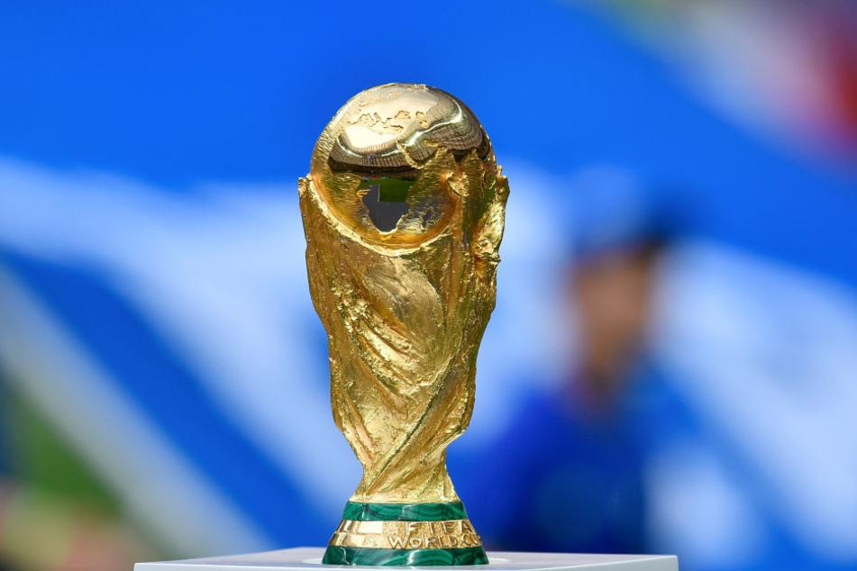 So sieht der WM-Pokal heute aus. (Symbolbild)