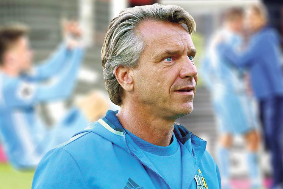Bleibt trotz des 1:2 Optimist: CFC-Trainer Horst Steffen.