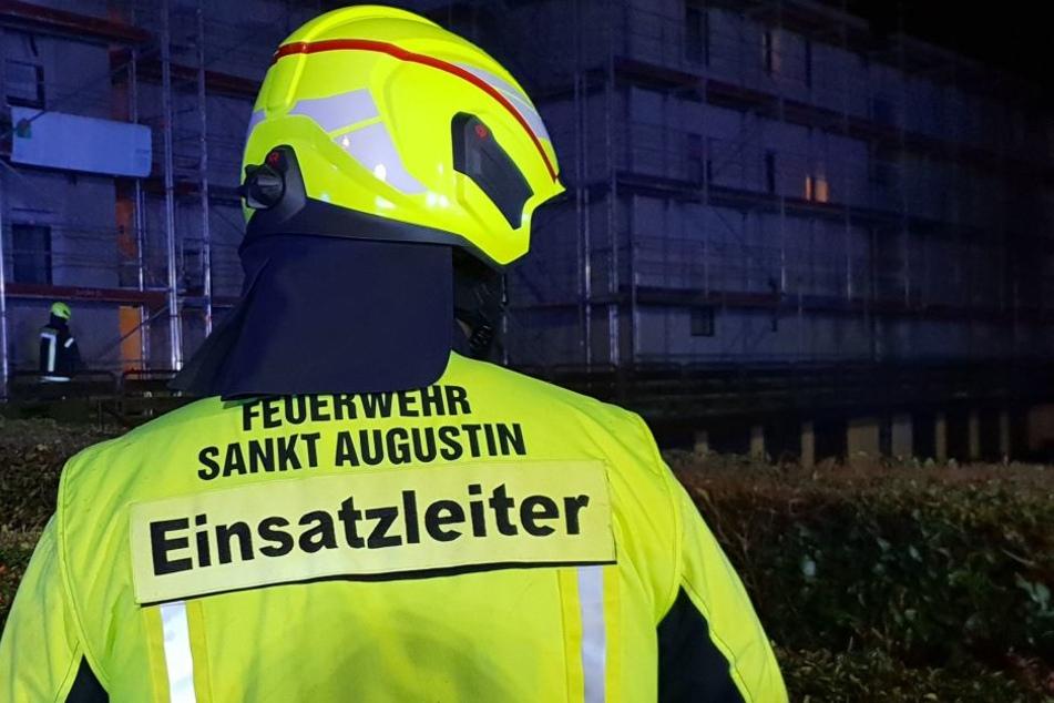 60 Einsatzkräfte der Feuerwehr waren vor Ort (Symbolbild).