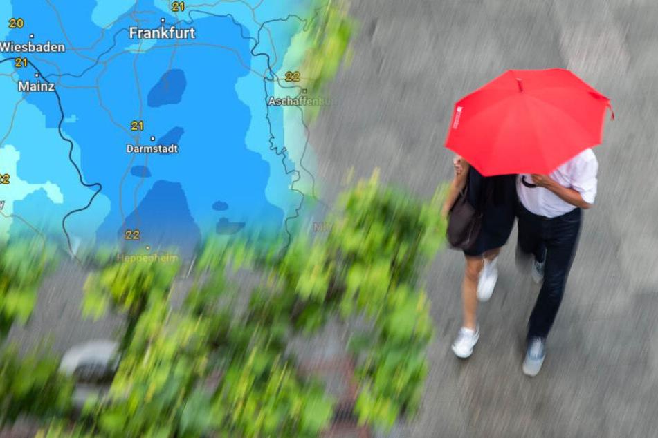 Örtlich Unwetter möglich: So wird der Dienstag in Hessen