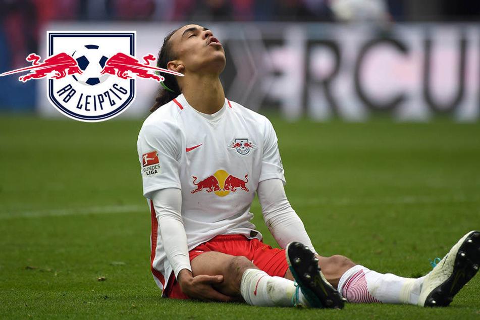 Yussuf Poulsen muss sich bei RB Leipzig einen neuen Buddy suchen
