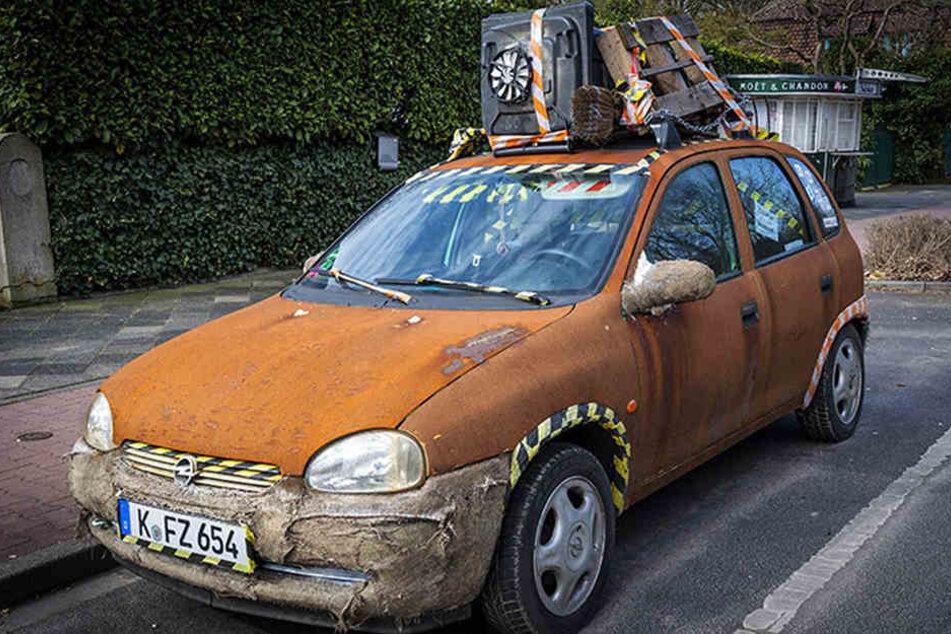 Der Opel Corsa sucht einen neuen Besitzer.