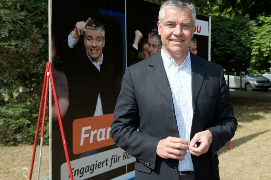Der Berliner CDU-Bundestagsabgeordnete Frank Steffel.
