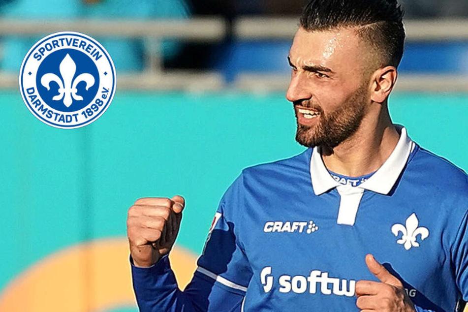 Stürmer Serdar Dursun von Darmstadt 98 träumt von der EM-Teilnahme