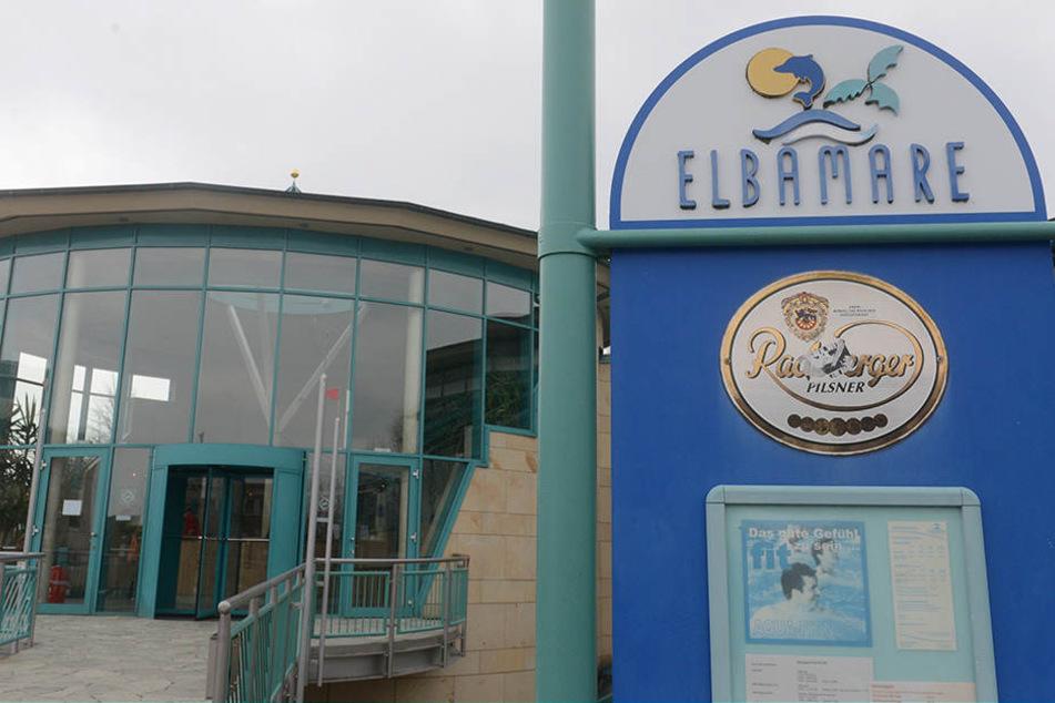 Im Elbamare in Gorbitz ereignete sich der tragische Badeunfall.