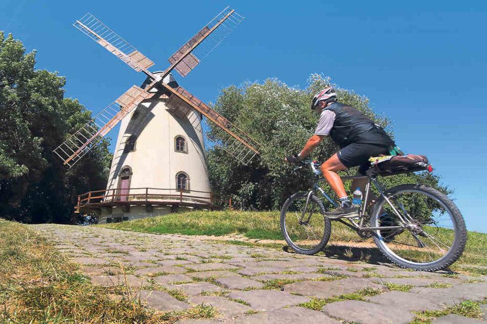 Wer hier nicht absteigt, muss gut trainiert und mit dem richtigen Rad  ausgestattet sein.