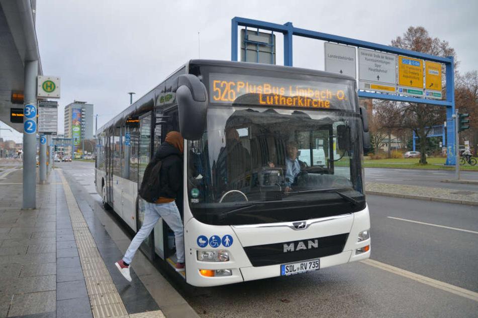 Ab sofort übernimmt der PlusBus die Linie 526 nach Limbach-Oberfrohna.