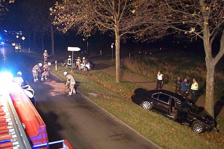 Zwei Kinder im Alter von 2 und 7 Jahren wurden bei dem Unfall verletzt.