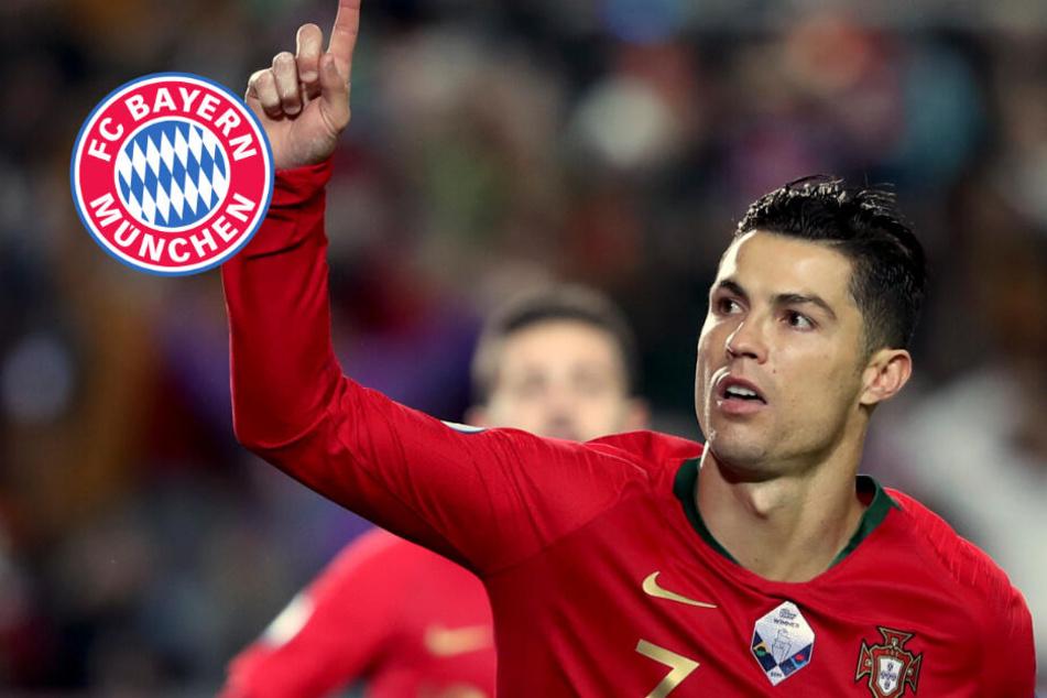 Cristiano Ronaldo zum FC Bayern? Das steckt hinter dem verrückten Gerücht