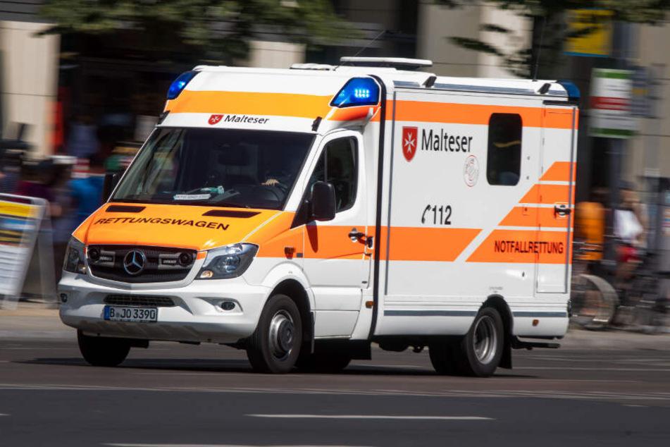Das Kind wurde in ein Krankenhaus gebracht, als es wieder bei Bewusstsein war. (Symbolbild)