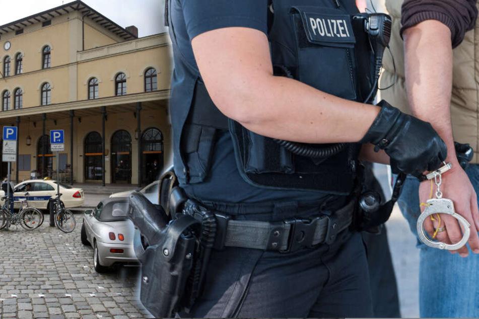 Mann rastet am Hauptbahnhof aus und verletzt vier Polizisten