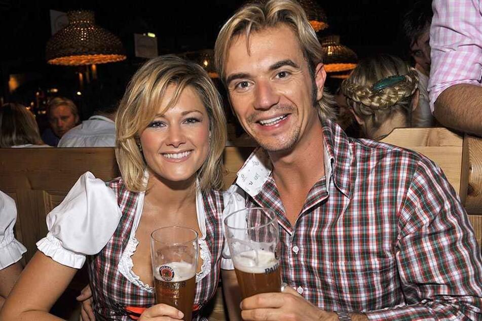 Ein Bild aus dem Jahr 2009: Hier waren Helene und Florian noch glücklich.