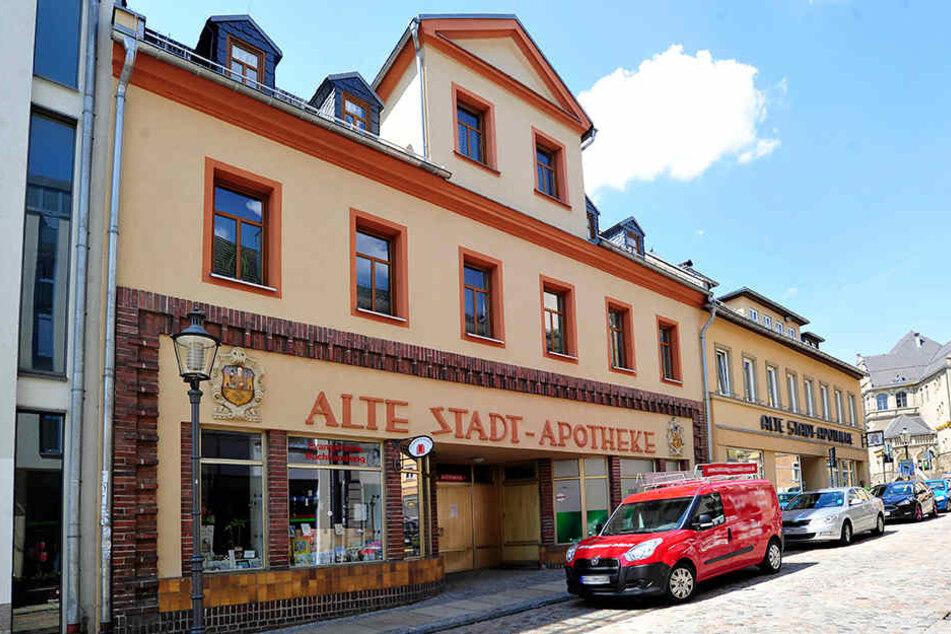 Heute gehört der Laden des einstigen Schuhgeschäfts an der Marktstraße zur Alten Stadtapotheke.