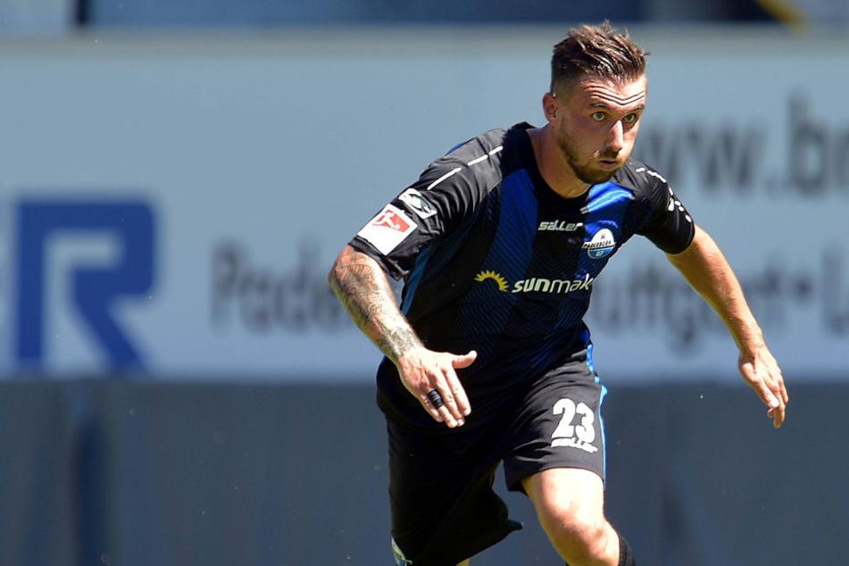 Robin Krauße (24) wird den SC Paderborn verlassen.