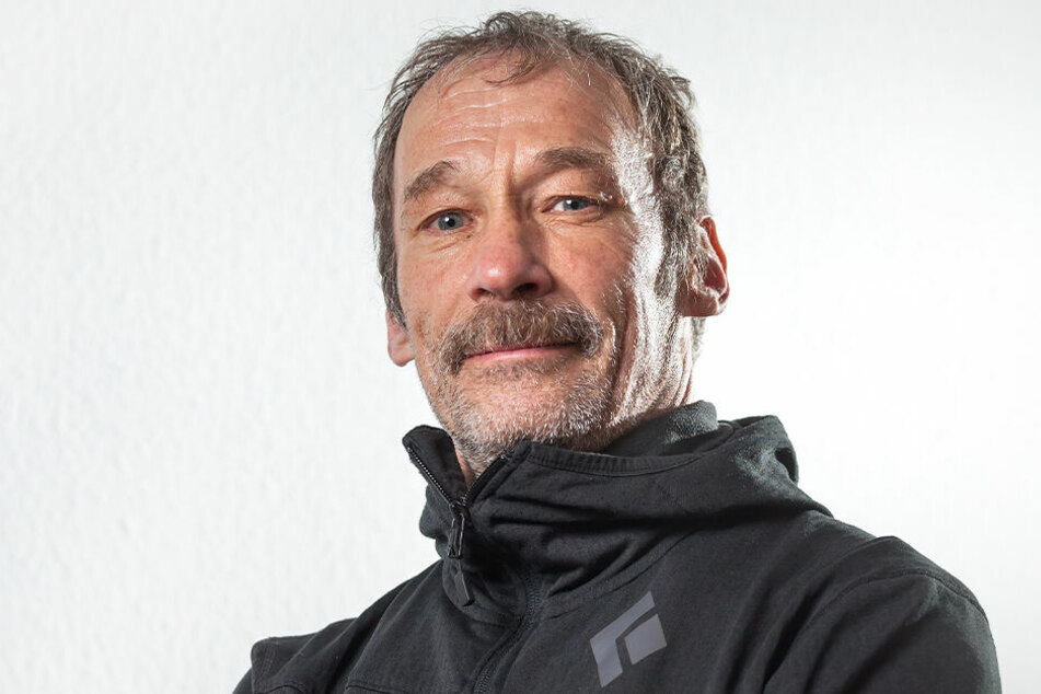 Trainingswissenschaftler Heiko Schinkitz arbeitet am Olympiastützpunkt.