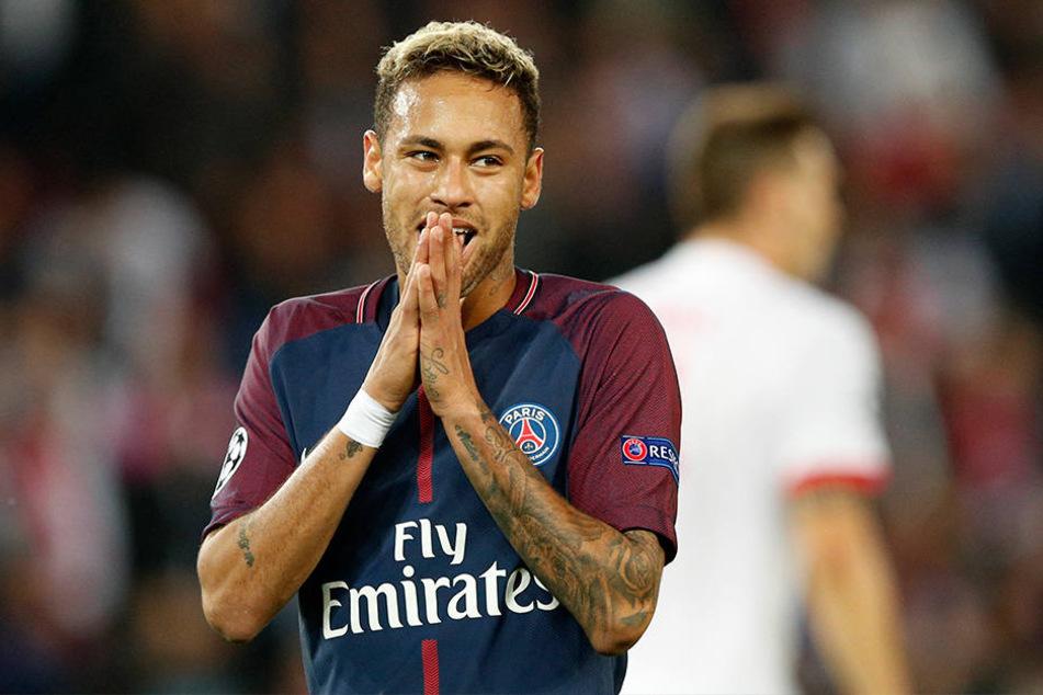 Der Stürmer von Paris St. Germain hat sich einen Haarriss im Mittelfuß zugezogen und fällt deshalb noch mehrere Monate aus.