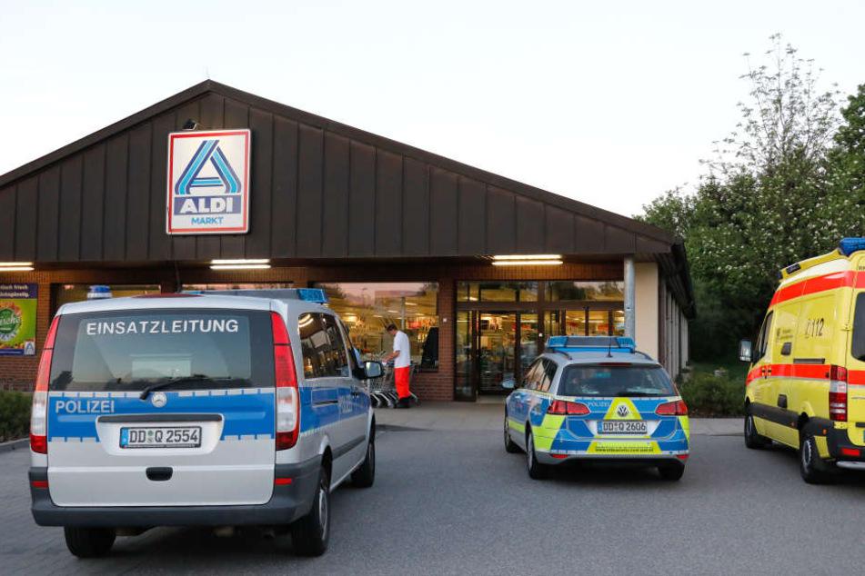 Mehrere Täter haben einen Aldi-Markt in Frankenberg überfallen.