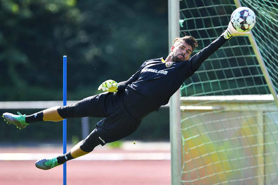 Bekommt Patrick Wiegers endlich die Chance, sein Können in einem Dynamo-Pflichtspiel zu beweisen?