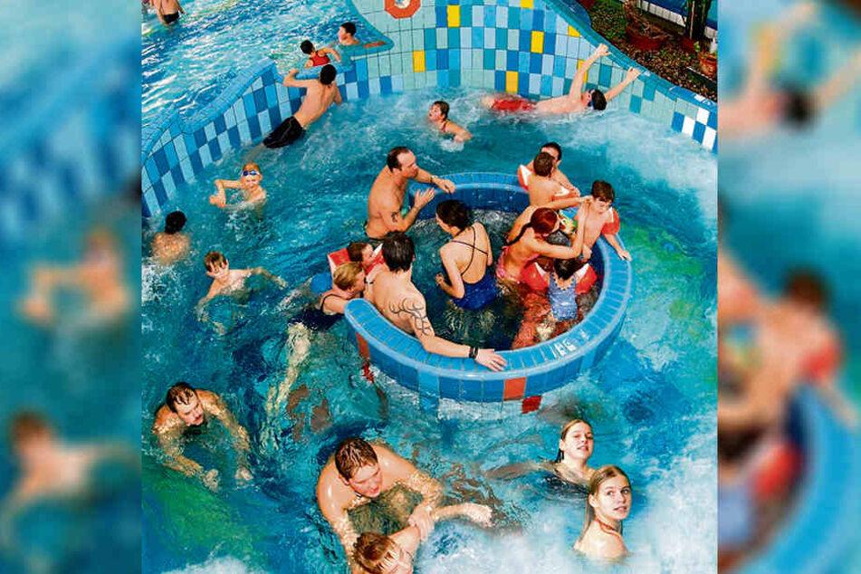 Landete bundesweit auf dem fünften Platz: Freizeitbad Aqua Marien in Marienberg.