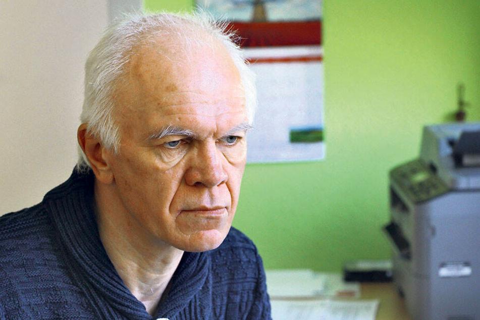 Schulleiter Uwe Schädlich (60).