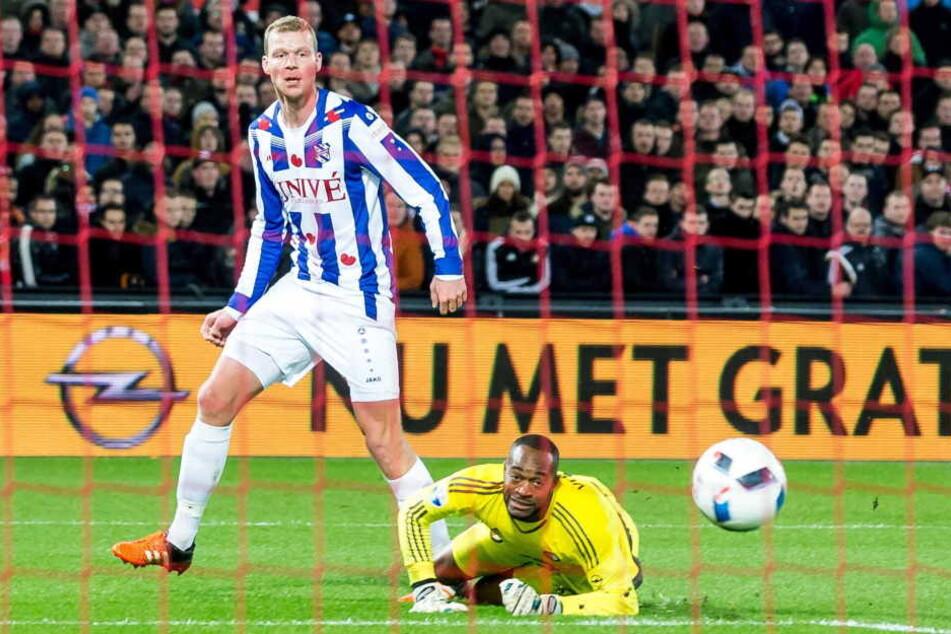 Henk Veerman im Trikot des SC Heerenveen.