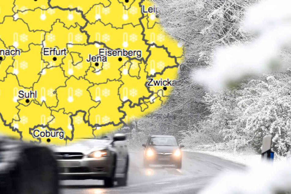 In ganz Thüringen kann es am Mittwoch zu Frost kommen.