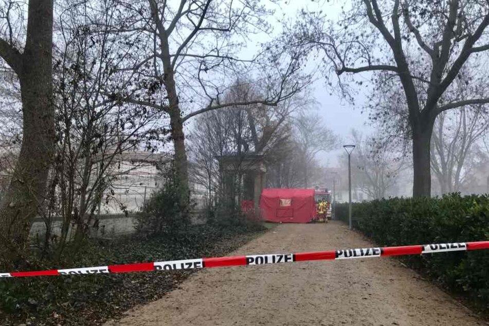 Im Brühler Park wurde die Leiche entdeckt.