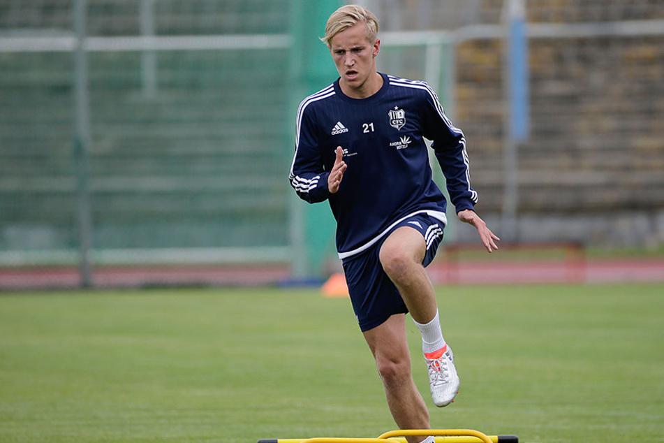Alexander Dartsch ist zurück beim CFC und will sich ab Montag dem neuen Trainer mit gute Leistungen aufdrängen.