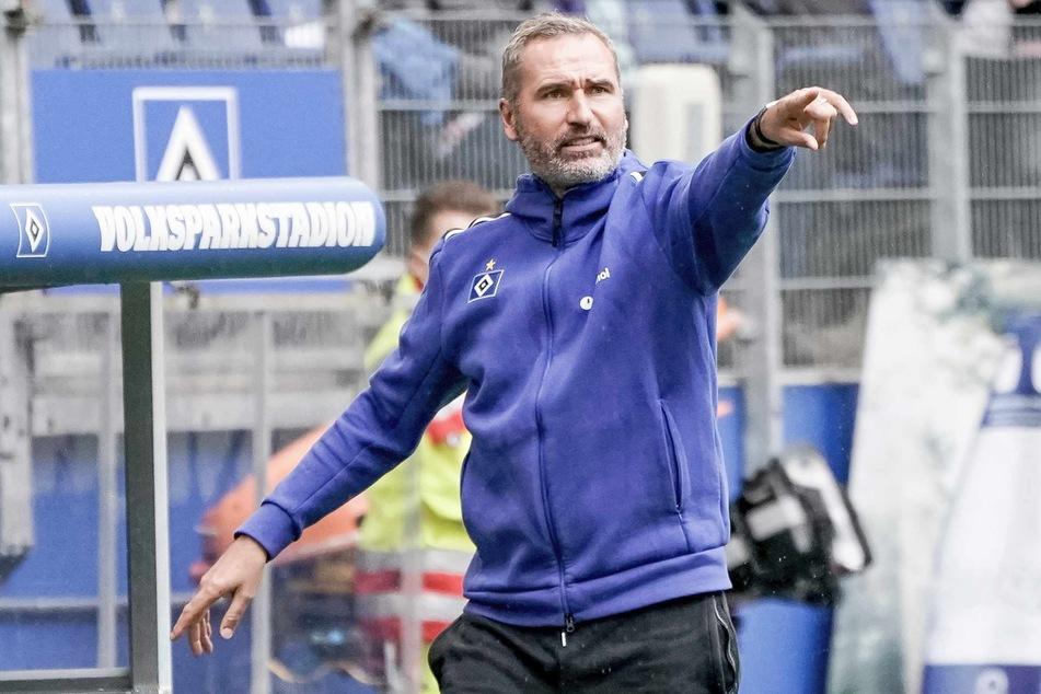 HSV-Trainer Tim Walter (45) freut sich auf die zahlreichen Zuschauer im Stadion.