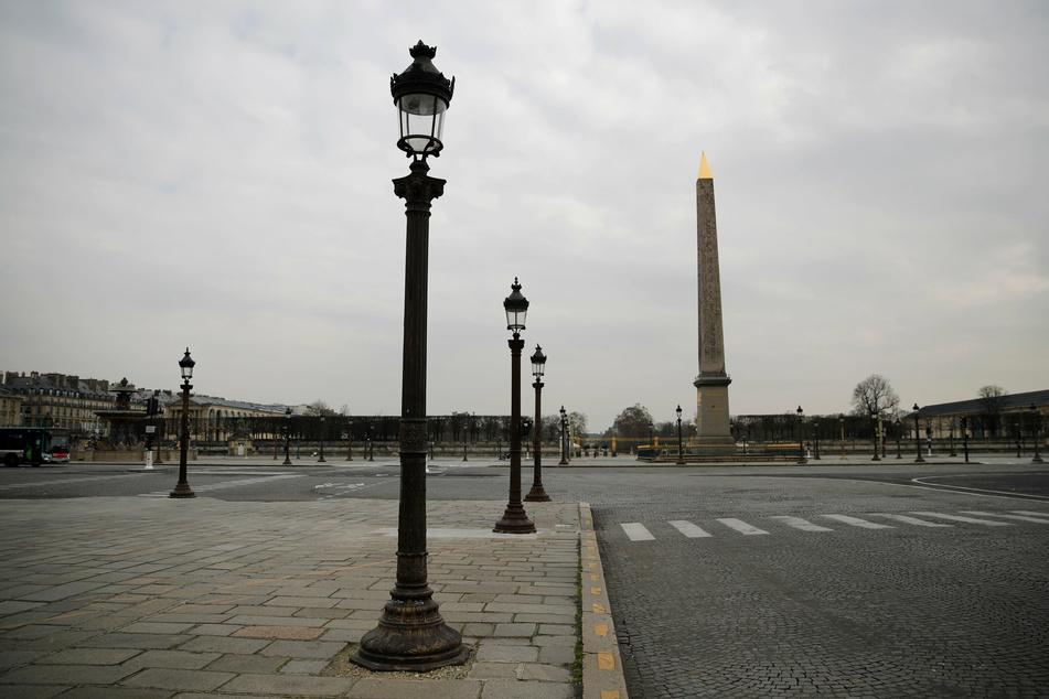 DerPlace de la Concorde in Paris.