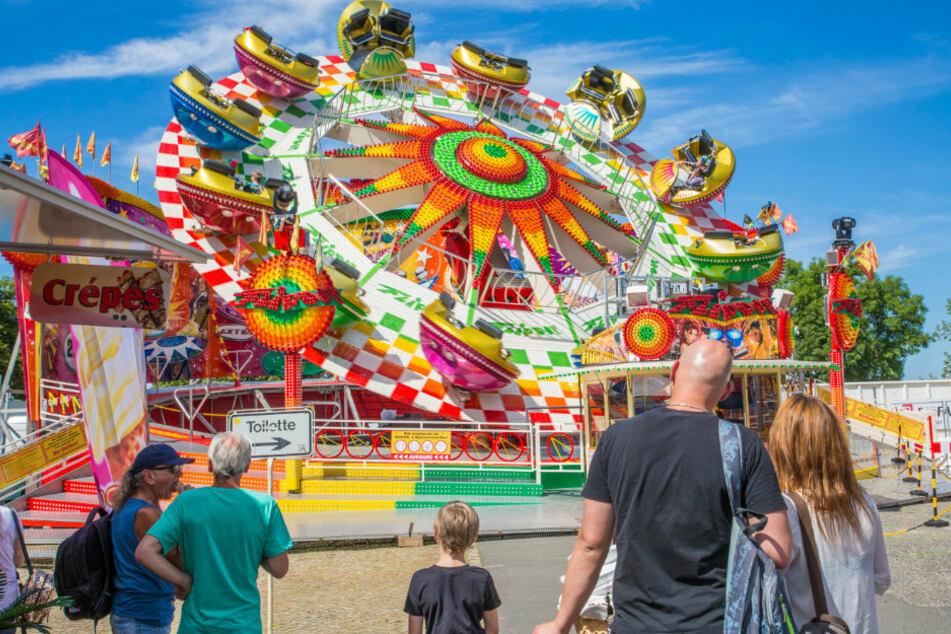 Es geht wieder los: Dresdens Volksfest startet mit tollen Attraktionen