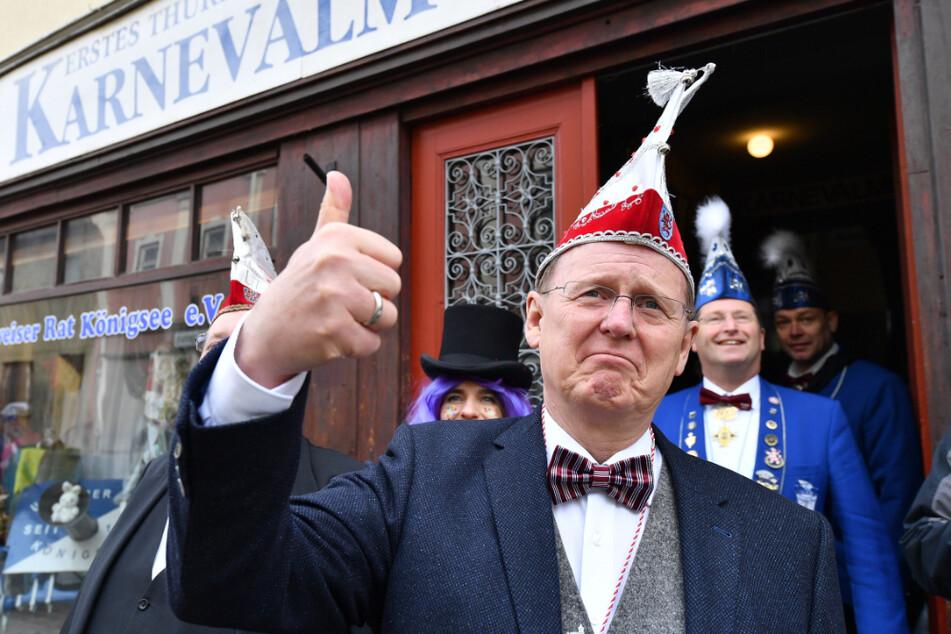 Bodo Ramelow (64, Linke) ist bekennender Karnevals-Fan.