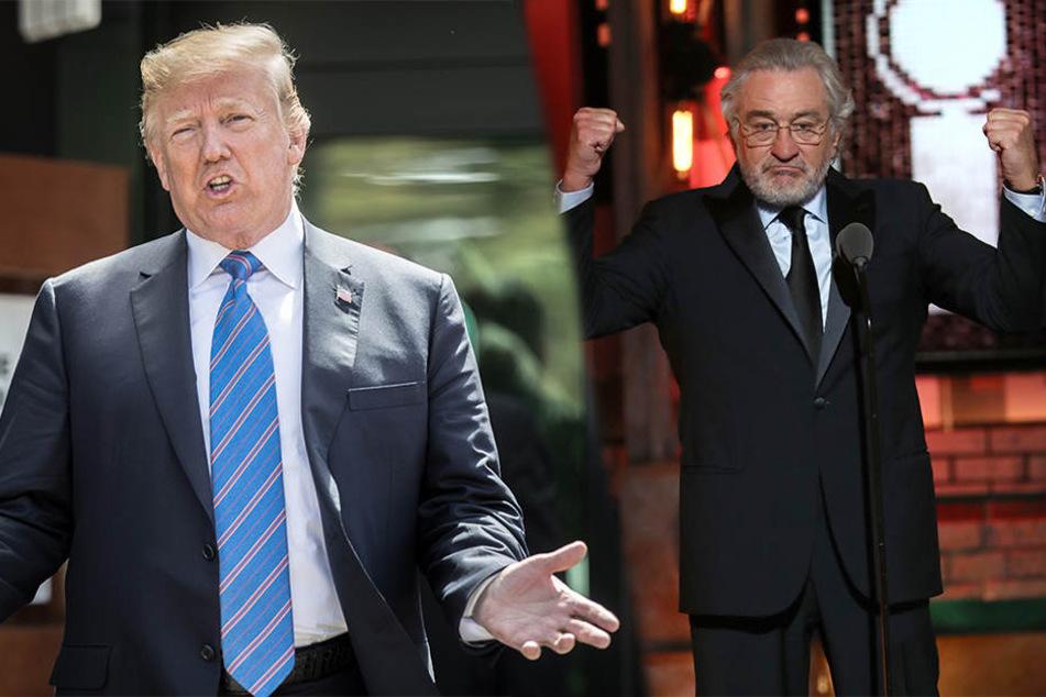 Donald Trump teilt auf Twitter gegen Robert De Niro aus und geht dabei wie immer nicht zimperlich vor