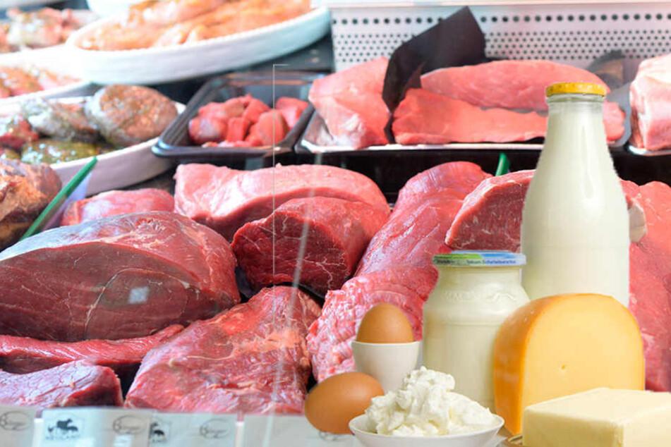 Fleisch und Milchprodukte sollen statt mit sieben mit 19 Prozent versteuert werden.