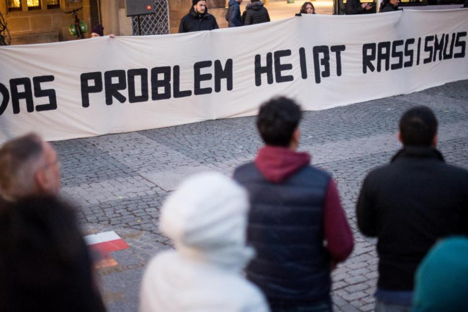 Die Messerattacke in Heilbronn sorgte für Mahnwachen und Proteste.