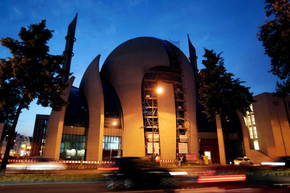 Die Ditib-Moschee in Köln-Ehrenfeld.