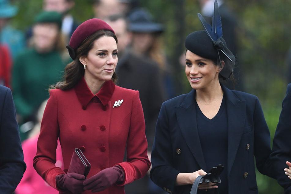 Kate und Meghan bemühten sich zuletzt darum, harmonisch zu wirken.