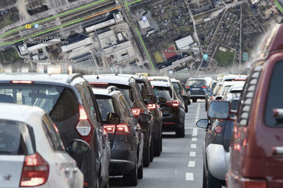 Marschnerstraße: Sperrung um Zentrum-West bleibt vorerst bestehen
