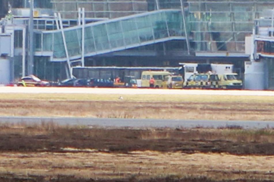 Flughafen Nürnberg Unfall