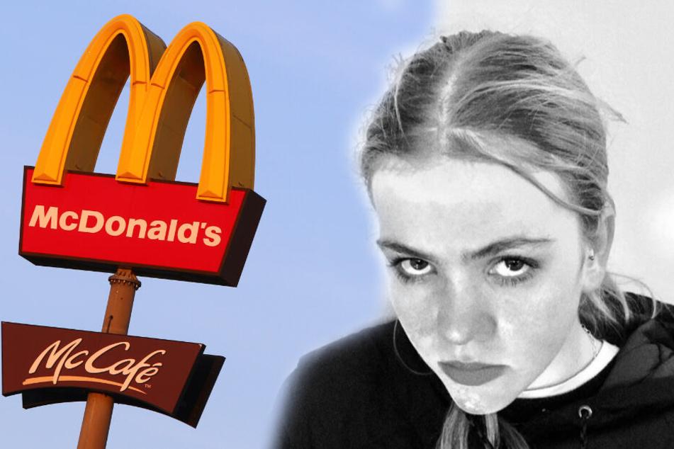 Vegetarierin bestellt Gemüse-Burger bei McDonald's, doch sie erhält etwas anderes