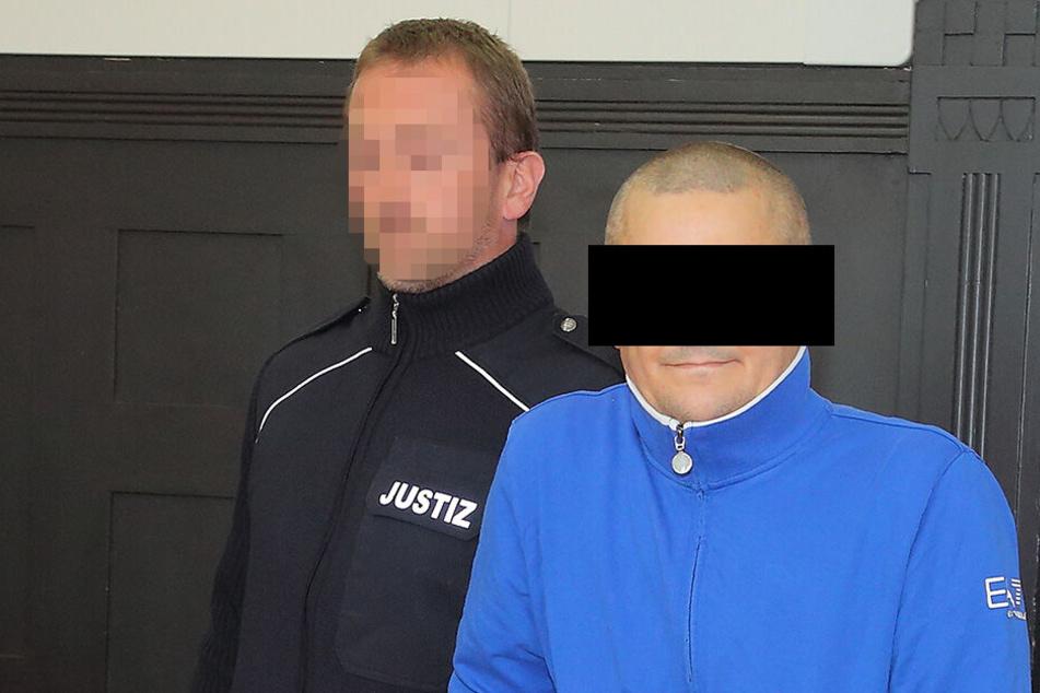 Matthias S. (41) muss für drei Jahre hinter Gitter.
